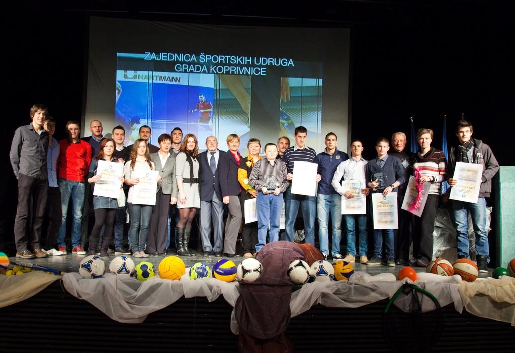 Održano Proglašenje najuspješnijih sportašica, sportaša i sportskih ekipa Grada Koprivnice