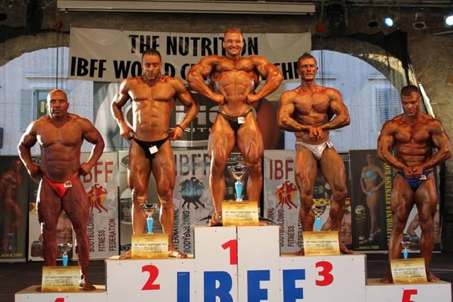 Svjetsko prvenstvo u bodybuildingu po IBFF federaciji