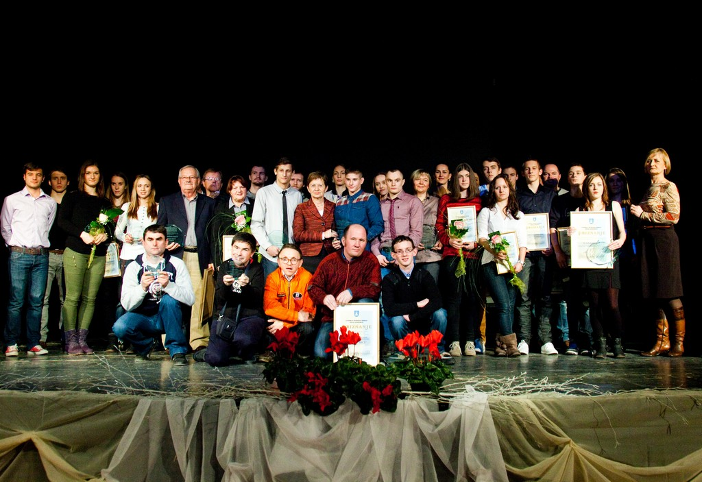 Proglašenje najuspješnijih sportašica, sportaša i sportskih ekipa Grada Koprivnice u 2013. godini