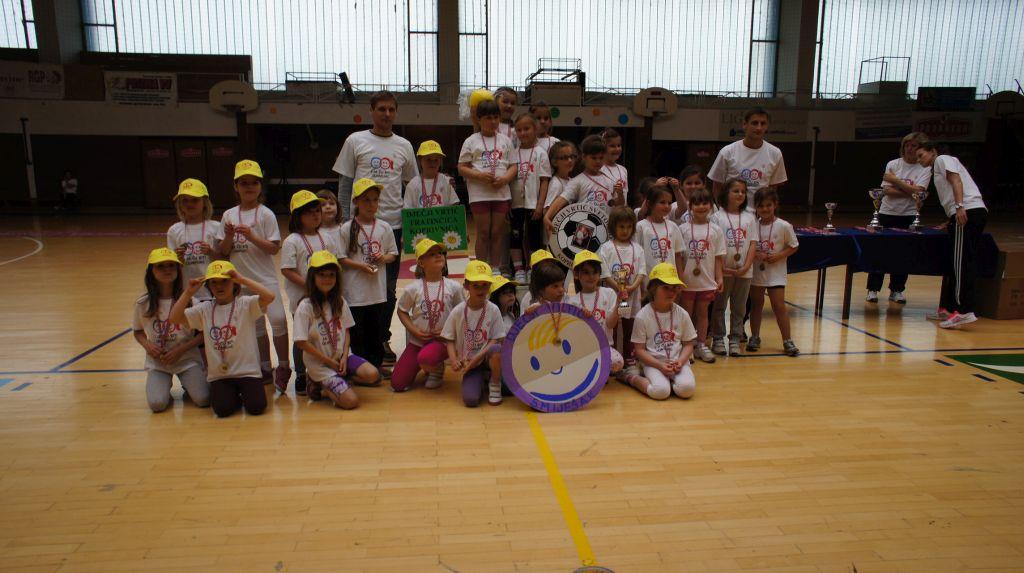 Rezultati natjecanja na 13. olimpijskom festivalu dječjih vrtića