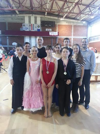 Plesači Ritma uspješni na turniru u Bjelovaru