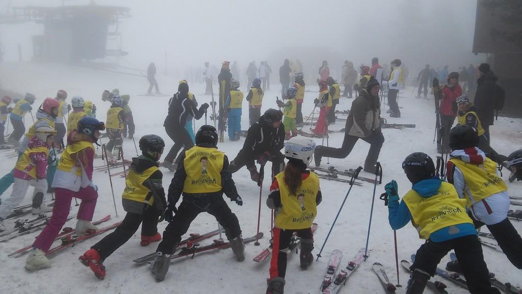 Natjecanje u skijanju i bordanju na Rogli