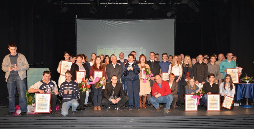 Proglašenje najuspješnijih sportašica, sportaša i sportskih ekipa Grada Koprivnice u 2014. godini