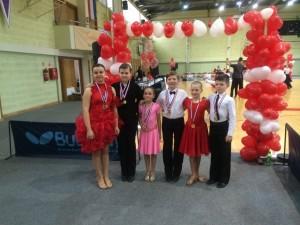 Članovi Športskog plesnog kluba Koprivnica nastupili su na turniru u standardnim i latinsko-američkim s međunarodnim sadržajem u Krapini.