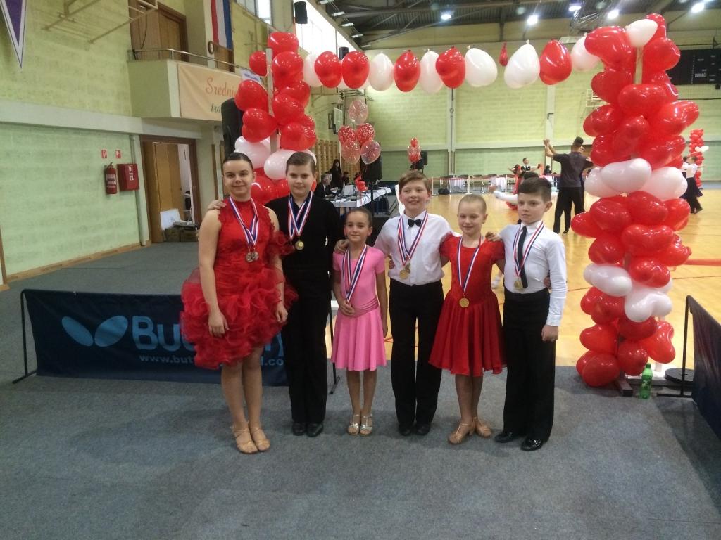 Članovi ŠPK Koprivnica nastupili na turniru u standardnim i latinsko-američkim plesovima