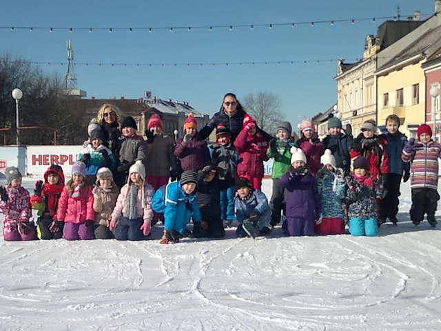 Igre na ledu za djecu predškolske dobi