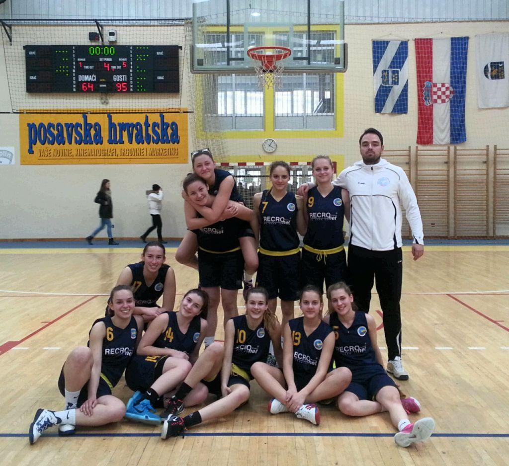 Dvije pobjede košarkašica Koprivnice