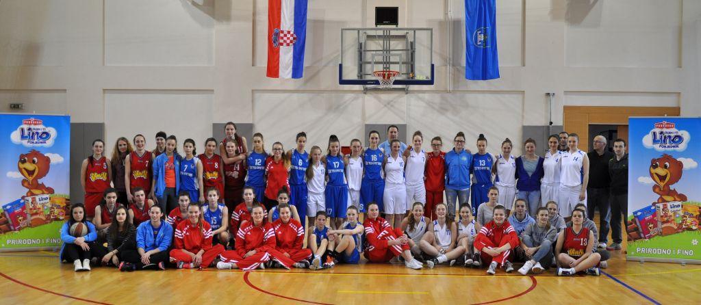 Košarkašice Koprivnice pobijedile na 10. Uskršnjem turniru