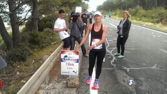 """Maja Marković sudjelovala je u svjetskoj atletskoj utrci """"Wings for Life World Run"""""""