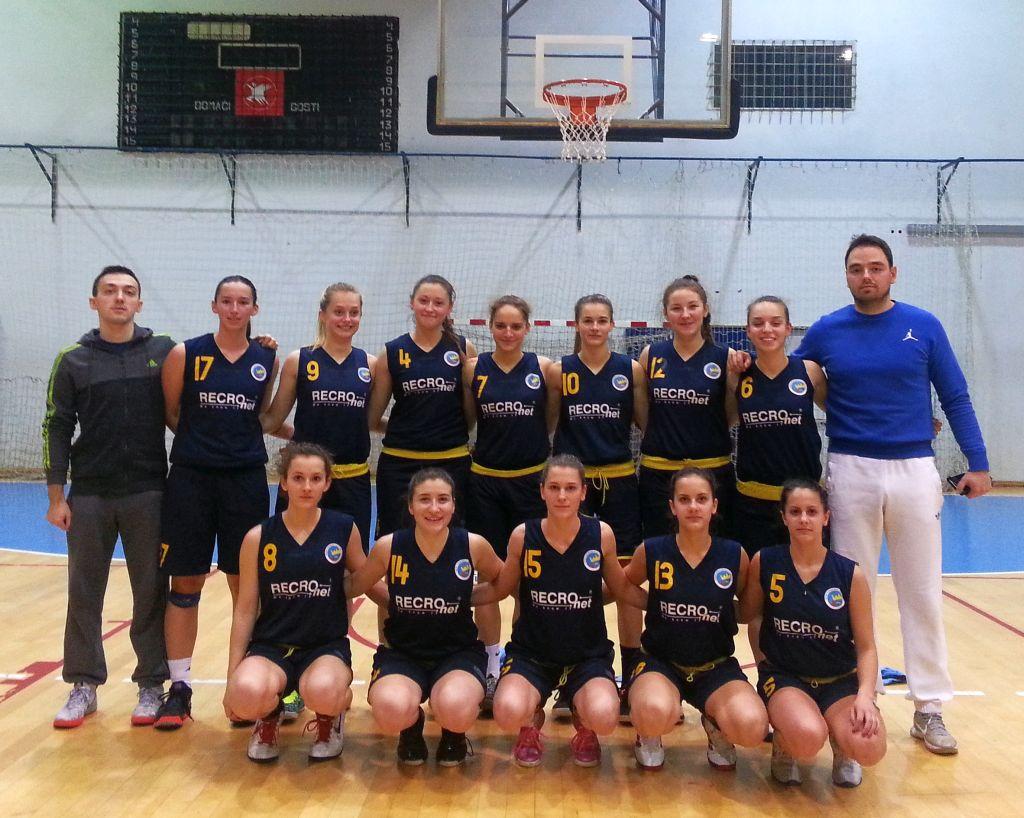 Ženska košarka: Juniorska poluzavršnica prvenstva RH u Koprivnici