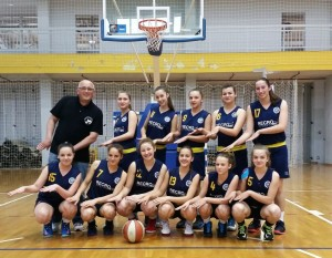 Ženski košarkaški klub Koprivnica - Kadetkinje