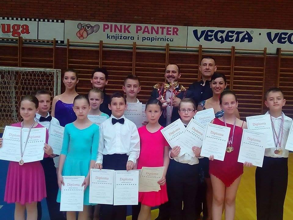 Plesači Ritma uspješni na turniru u Koprivnici