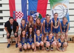 Najmlađe košarkašice Koprivnice treće u Hrvatskoj