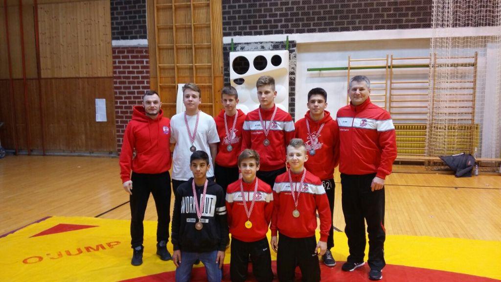 Sedam hrvača i sedam medalja s Božićnog turniru u Zagrebu