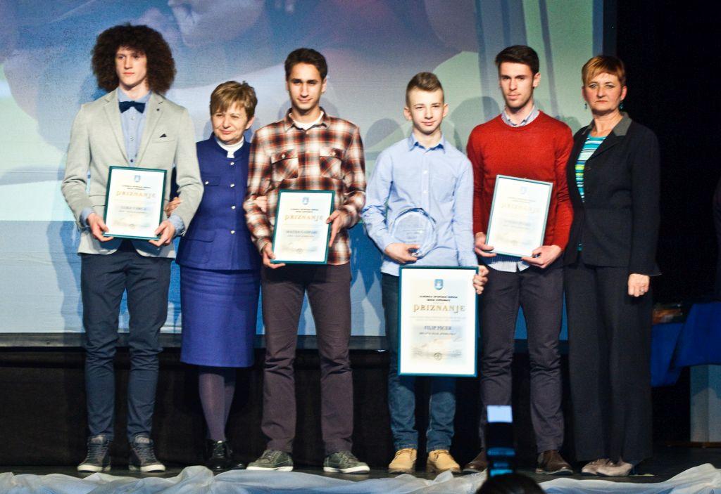 Najuspješnije sportašice, sportaši i sportske ekipe Grada Koprivnice (2015.)