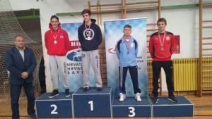 Filip Frankol, viceprvak Hrvatske u kategoriji mlađih seniora, U23