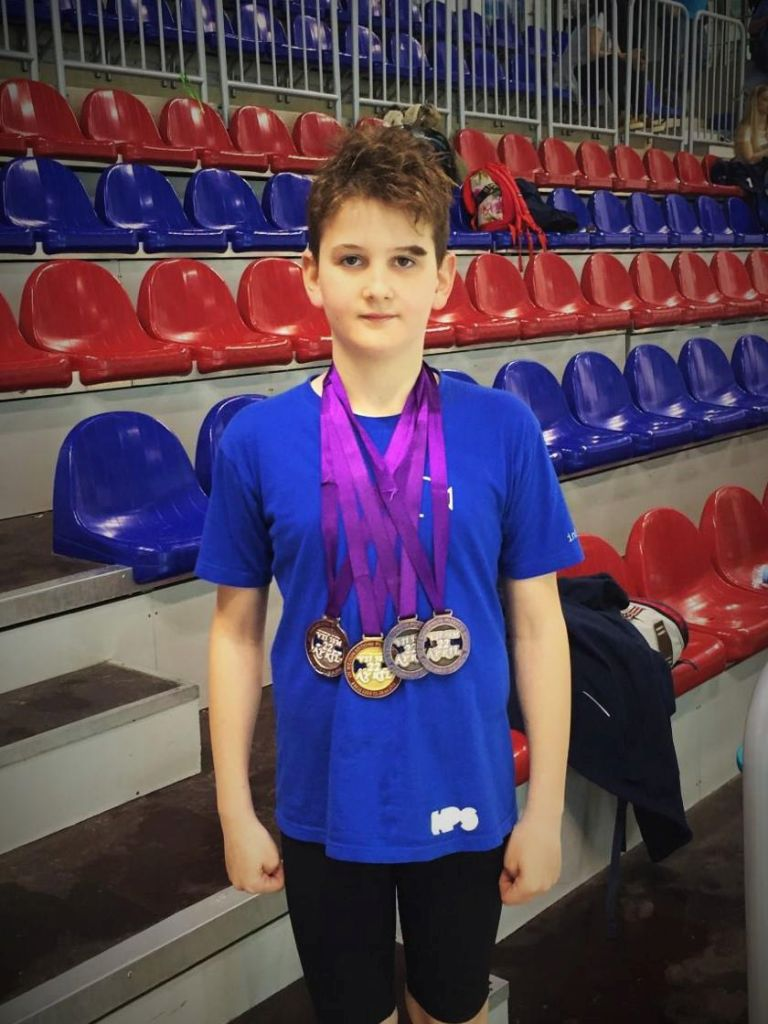 Ivan Sinjeri osvojio četiri medalje u Banja Luci