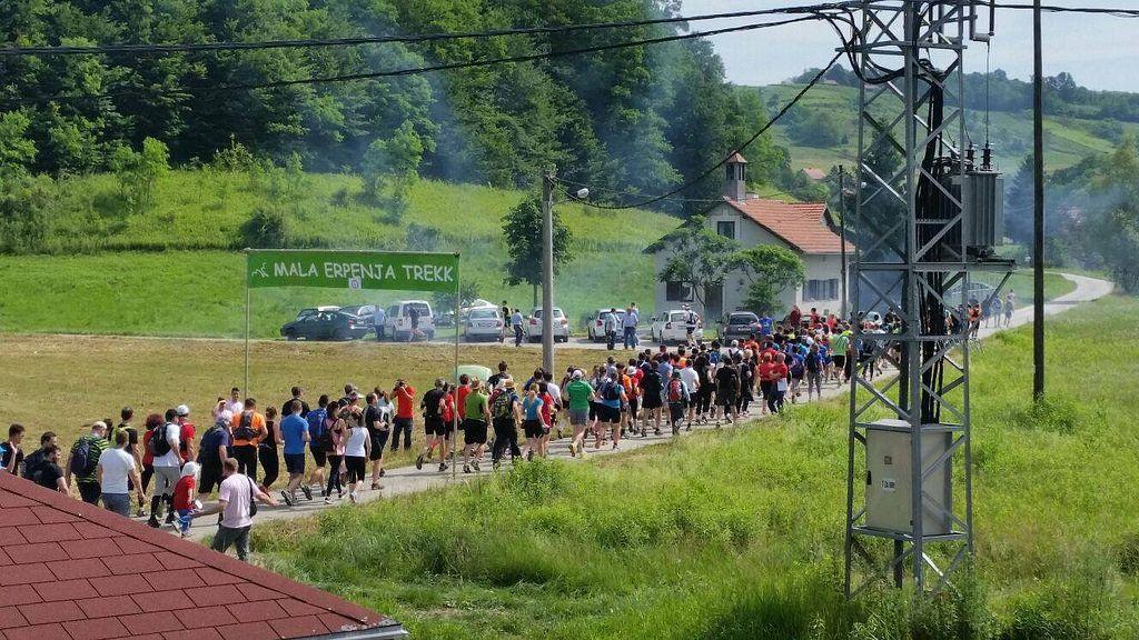 Članovi SRD 315 Sjeverozapad nastupili na utrci Mala Erpenja Trek