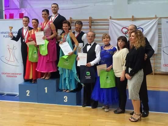 Državni prvaci u kombinaciji svih 10 plesova za 2016. u kategoriji veterana