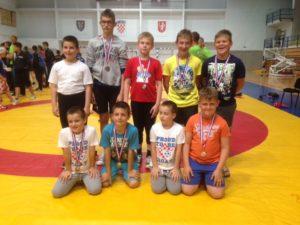 Šest medalja osvojili su hrvači Podravke u Gospiću