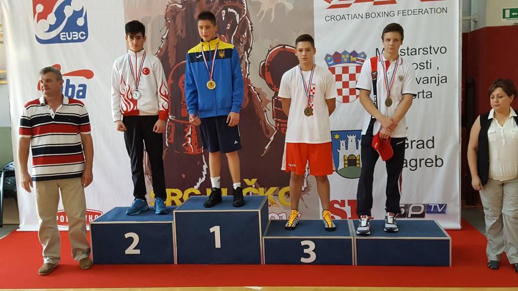 U Zagrebu održano Europsko kadetsko prvenstvo u boksu