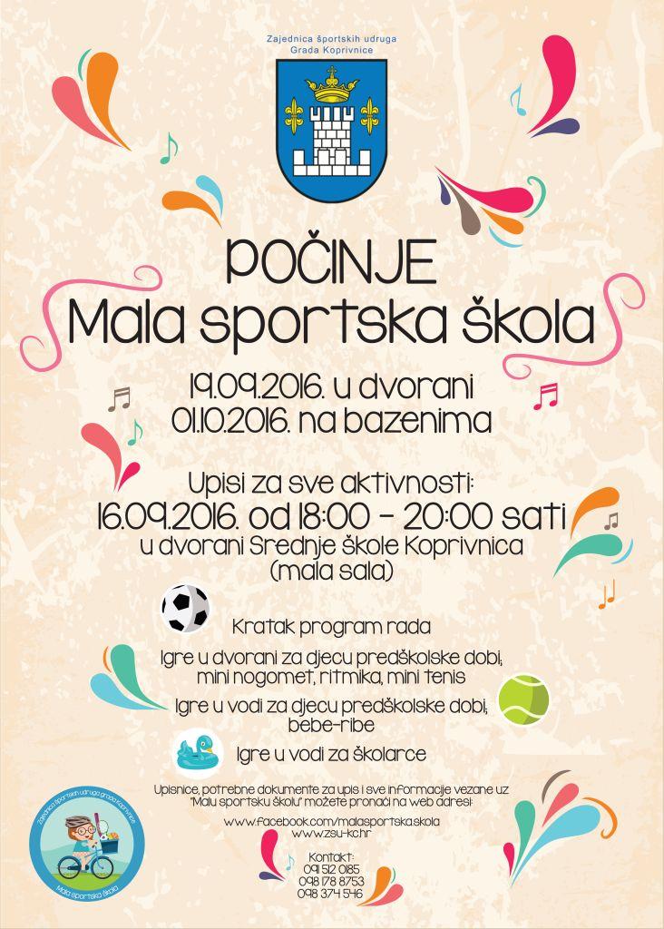 Upisi u Malu sportsku školu 2016./2017.