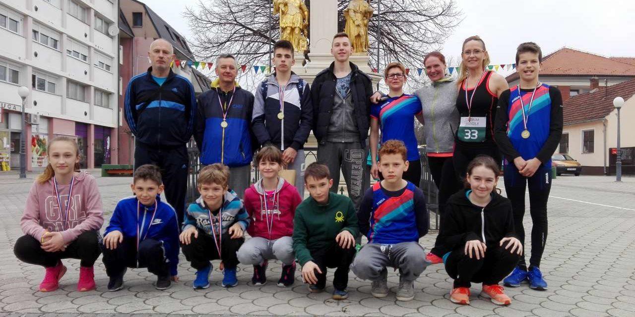 Atletičari AK Koprivnica dominirali u Ludbregu