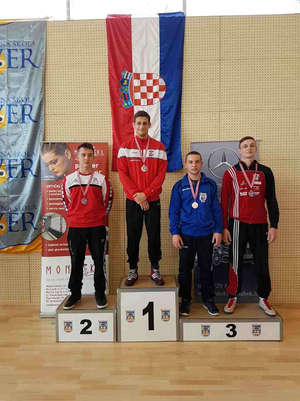 Fodor juniorski prvak Hrvatske, Džanko viceprvak