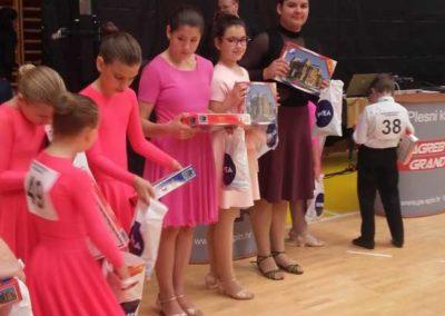 Plesno natjecanje u Zgrebu