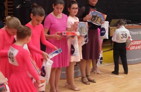 Plesno natjecanje u Zagrebu