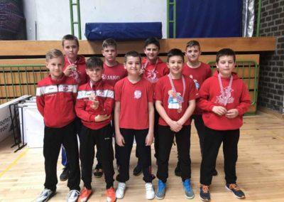 Dva srebra i tri bronce osvojili su mlađi dječaci Podravke na Prvenstvu Hrvatske