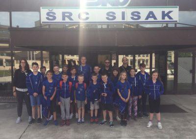 10 odličja za Plivački klub Cerine u Sisku