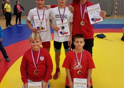 Hrvači Podravke postigli su odlične rezultate u Češkoj