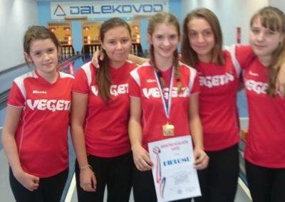 Prvenstvo RH u sprintu za kadetkinje U14 u Zaboku