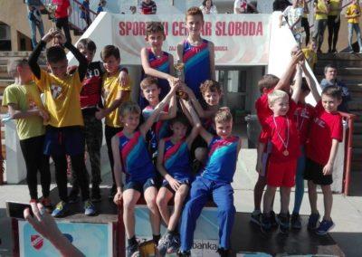 Limači Atletskog kluba Koprivnica prvaci Hrvatske atletske lige sjever