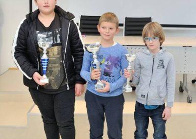Emanuel Bunić osvojio kadetski šahovski turnir u Sesvetama (foto: Vesna Živčić)