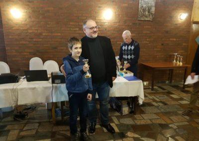 Jan Horčička treći na kadetskom Prvenstvu Hrvatske u ubrzanom šahu