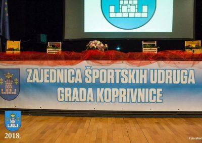 Najuspješnije sportašice, sportaši i sportske ekipe Grada Koprivnice (2017.)