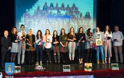 Slike i video – Proglašenje najuspješnijih sportašica, sportaša i sportskih ekipa grada Koprivnice u 2017.
