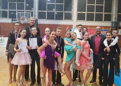 Bodovni turnir u Bjelovaru u standardnim i latinsko-američkim plesovima