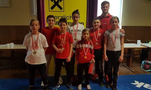 Tri zlatne i tri srebrne medalje osvojile su hrvačice i hrvači Podravke u Austriji