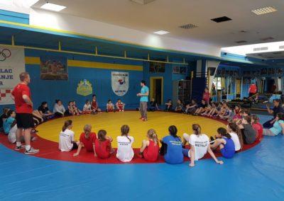 Šest hrvačica Podravke sudjelovale na dvodnevnom mini kampu u Zagrebu