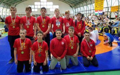 Osam medalja osvojili su hrvači Podravke u Mađarskoj