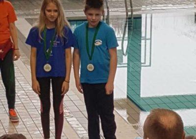 Dora Ferčec osvojila ukupno peto mjesto na mitingu Sv. Patrika u Zagrebu