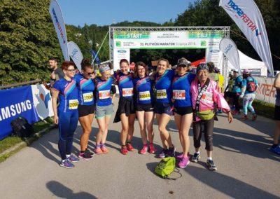 Hitre drape iz AK Koprivnica nastupile na 33. Plitvičkom maratonu