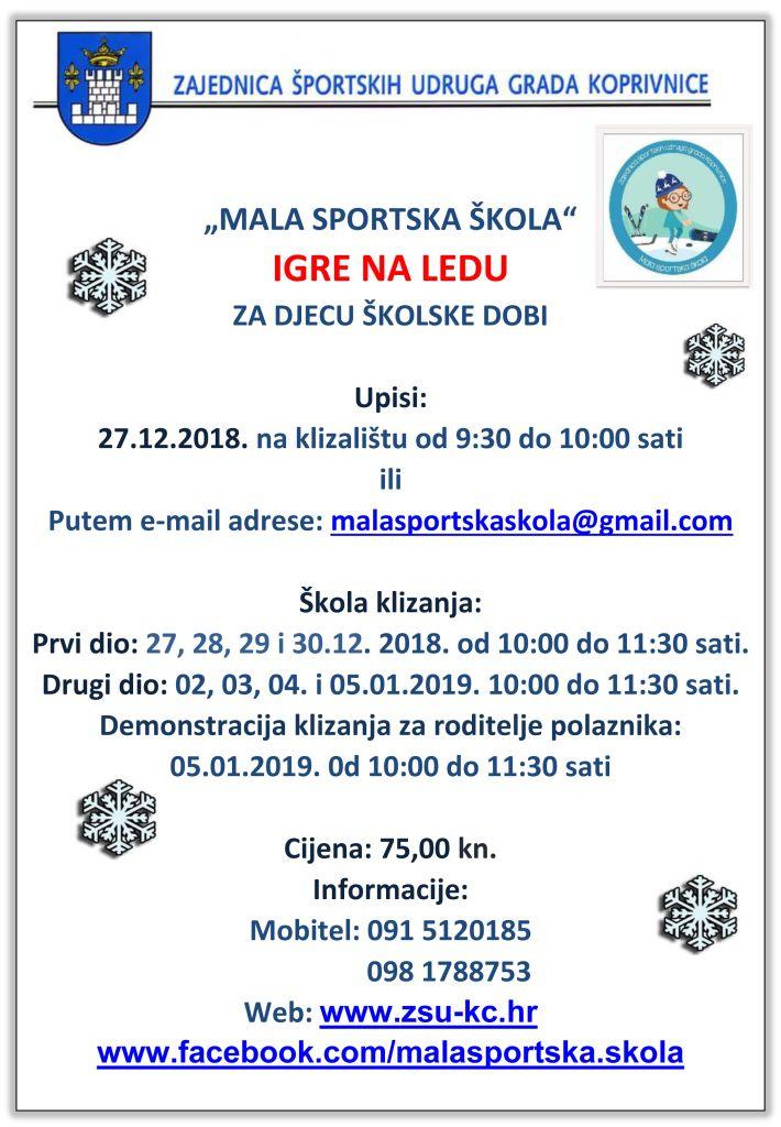 Škola klizanja i skijanja