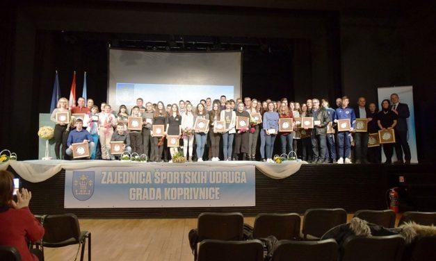 Održano proglašenje najuspješnijih sportašica, sportaša i sportskih ekipa grada Koprivnice u 2018. godini